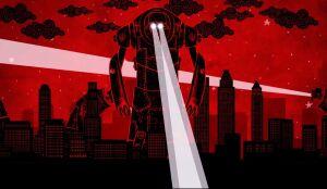Roboty demolują miasto. Teledysk do wzruszającej piosenki