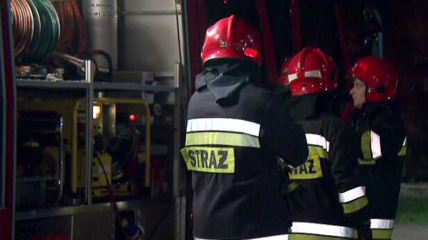 Strażacy interweniowali ponad 80 razy TVN24