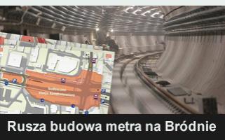 Rusza budowa metra na Bródnie