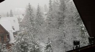 Zima przyszła do Zakopanego (facebook/Kinga)