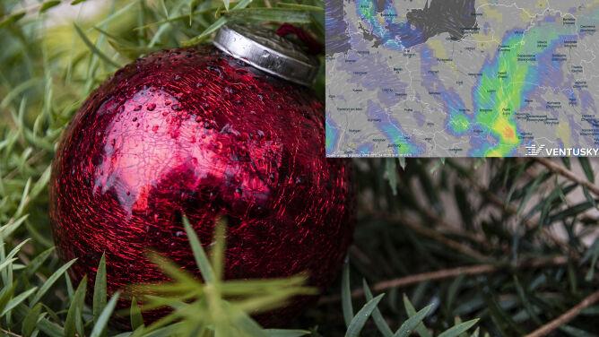 Pogoda na Wigilię i Boże Narodzenie