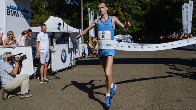 Marcin Chabowski wygrał 2. BMW Półmaraton Praski