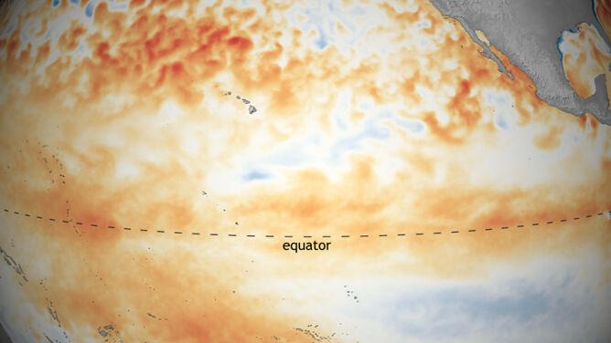 To już pewne, El Niño pojawił się na Pacyfiku