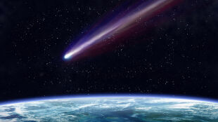 Komety uderzały w Ziemię i tak powstało życie?