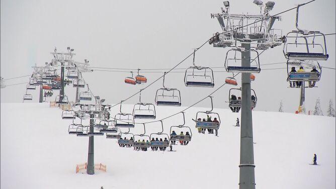 30 kilometrów tras biegowych. <br />W Zieleńcu śniegu jest pod dostatkiem
