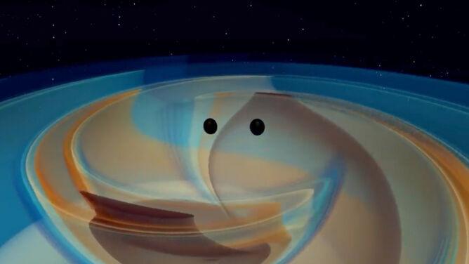 Najpotężniejsza kolizja czarnych dziur, jaką wykryto. <br />Jej owoc to obiekt, który wypełnił lukę w nauce