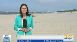 Świnoujście: przedszkolaki zbierały piasek, który zasili krakowskie piaskownice (TVN24)