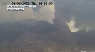 Obudził się wulkan na wyspie Saint Vincent