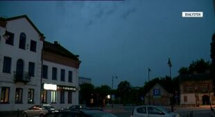 Burza w Białymstoku (TVN24)